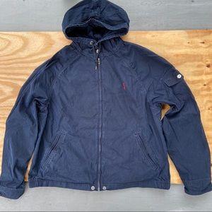 Polo Ralph Lauren Hooded Shell Jacket Windbreaker